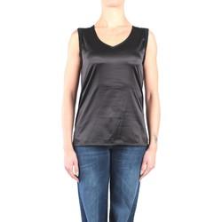 Abbigliamento Donna Top / T-shirt senza maniche Kocca JOIST Senza Maniche Donna Nero Nero