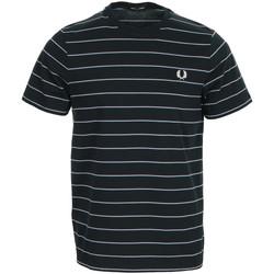 Abbigliamento Uomo T-shirt maniche corte Fred Perry Fine Stripe T-shirt Blu