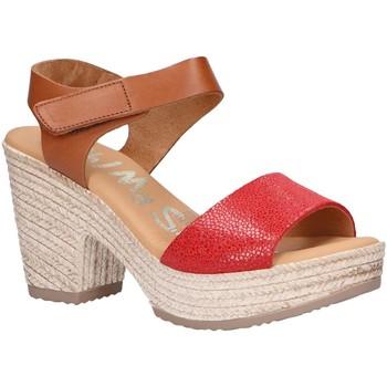 Scarpe Donna Sandali Oh My Sandals 4709-CR4CO Rojo