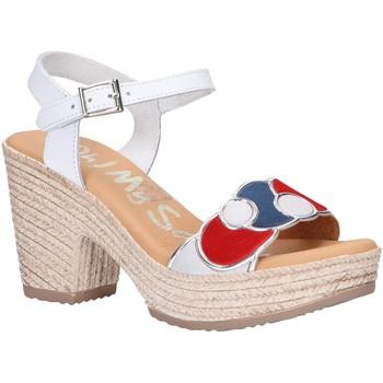 Scarpe Donna Sandali Oh My Sandals 4710-V1CO Blanco