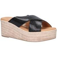 Scarpe Donna Espadrillas Oh My Sandals 4723-CR2 Negro