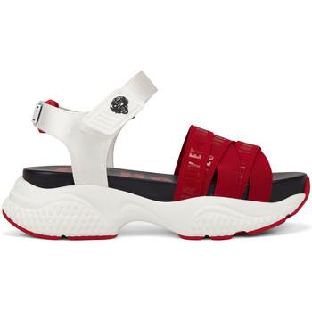 Scarpe Donna Sandali Ed Hardy - Overlap sandal red/white Rosso