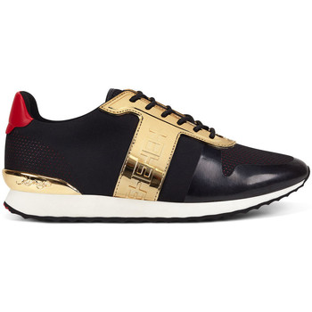 Scarpe Uomo Sneakers basse Ed Hardy - Mono runner-metallic black/gold Nero