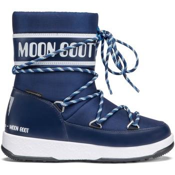 Scarpe Bambino Stivali da neve Moon Boot 34051300 002-UNICA - Moon Boot  Blu