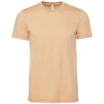 Abbigliamento Uomo T-shirt maniche corte Bella + Canvas CA3001 Duna di sabbia