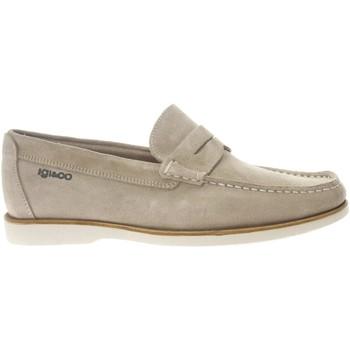 Scarpe Uomo Scarpe da barca IgI&CO 5114244 mocassino sneakers scarpe slip-on uomo beige Beige