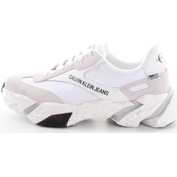 Scarpe Uomo Sneakers basse Calvin Klein Shoes b4s0667 Bianco