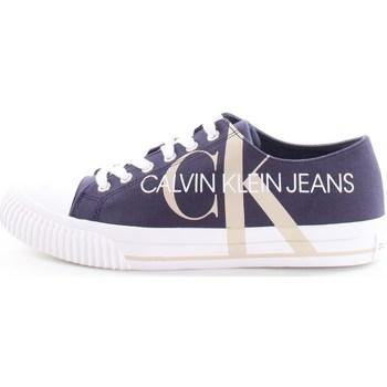 Scarpe Uomo Sneakers basse Calvin Klein Shoes b4s0638 Blu
