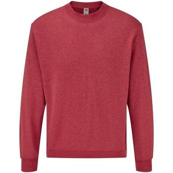 Abbigliamento Uomo Felpe Fruit Of The Loom 62202 Rosso