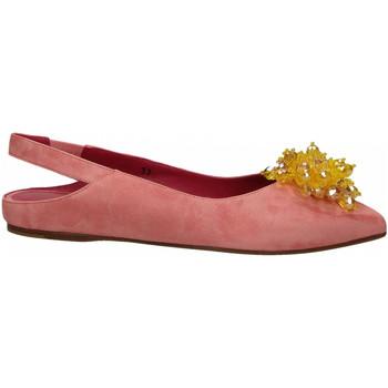 Scarpe Donna Ballerine 181 GAROFANO CAMOSCIO rosa
