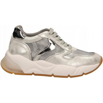 Scarpe Donna Sneakers basse Voile Blanche SHEELMESH argento-nichel