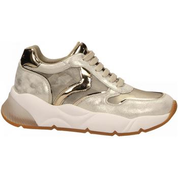Scarpe Donna Sneakers basse Voile Blanche SHEELMESH oro