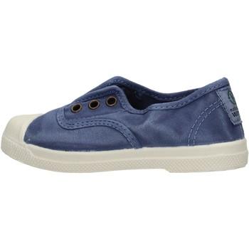 Scarpe Bambino Sneakers basse Natural World - Scarpa elast blu 470E-628 BLU