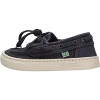 Scarpe Bambino Scarpe da barca Natural World - Sneaker blu 6473E-677 BLU