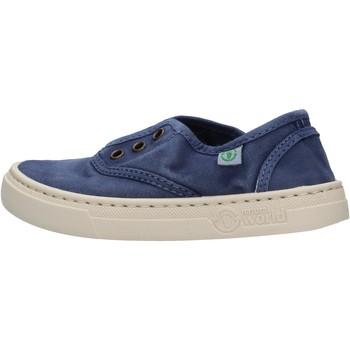 Scarpe Bambino Sneakers basse Natural World - Sneaker blu 6470E-628 BLU