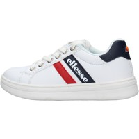 Scarpe Bambino Sneakers basse Ellesse - Maximilian bianco/blu ES0017S0032 BIANCO