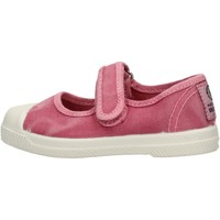 Scarpe Bambina Sneakers basse Natural World - Scarpa velcro rosa 476E-603 ROSA