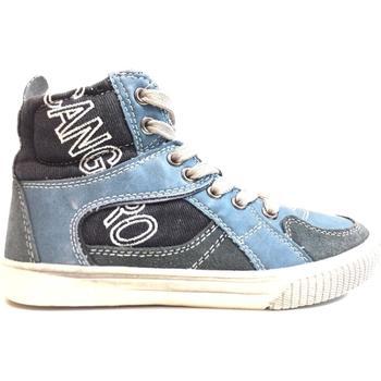 Scarpe Unisex bambino Sneakers alte Canguro ATRMPN-18498 Blu