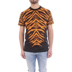 Abbigliamento Uomo T-shirt maniche corte Versace B3GVB7DF-30377 Nero