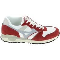 Scarpe Sneakers Mizuno Genova Blanc Rouge Bianco