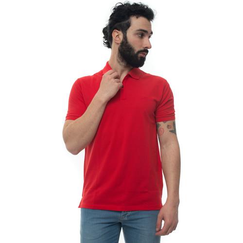 Abbigliamento Uomo Polo maniche corte Hugo Boss PALLAS-50425985617 rosso