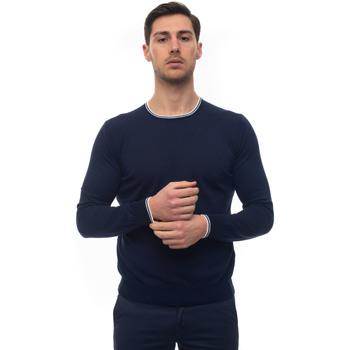 Abbigliamento Uomo Maglioni Fay NMMC1402330-QPK0U38 Blu-bianco