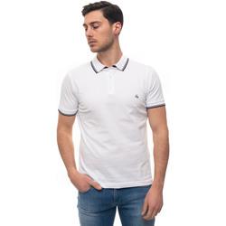 Abbigliamento Uomo Polo maniche corte Fay NPMB240140S-ITOB001 Bianco