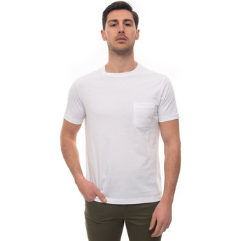 Abbigliamento Uomo T-shirt maniche corte Fay NPMB3401330-PKUB001 Bianco