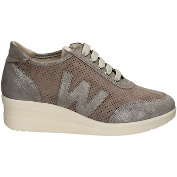 Scarpe Donna Sneakers basse Melluso R20156GD ARGENTO