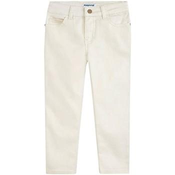 Abbigliamento Bambina Pantaloni Mayoral  Beige
