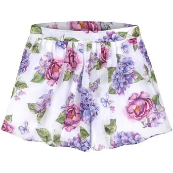 Abbigliamento Bambina Shorts / Bermuda Mayoral Kids Falda pantalon gasa estampada multicolore