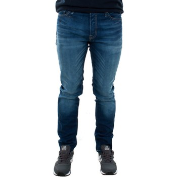 Abbigliamento Uomo Jeans slim Jack & Jones 12069489 JJITIM BLUE DENIM JOS919 Azul