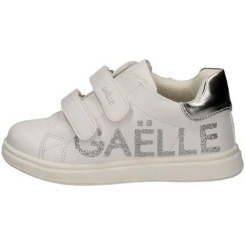 Scarpe Unisex bambino Sneakers basse GaËlle Paris G-280 BIANCO