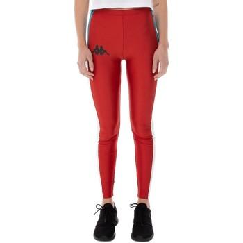 Abbigliamento Donna Leggings Kappa  Rojo