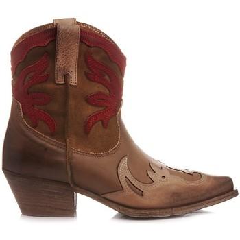 Scarpe Donna Stivaletti Metisse Metisse Stivaletti Texani Donna DX221-3 Cuoio cuoio