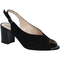 Scarpe Donna Sandali Enval 5257433 Sandalo scarpe tacco camoscio donna nero Black