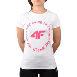 Abbigliamento Unisex bambino T-shirt & Polo 4F Girl's T-shirt HJL20-JTSD013A-10S