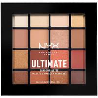 Bellezza Donna Cofanetto ombretti Nyx Ultimate Shadow Palette warm Neutrals 16x0,83 Gr