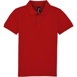 Abbigliamento Unisex bambino Polo maniche corte Sols PERFECT KIDS COLORS Rojo