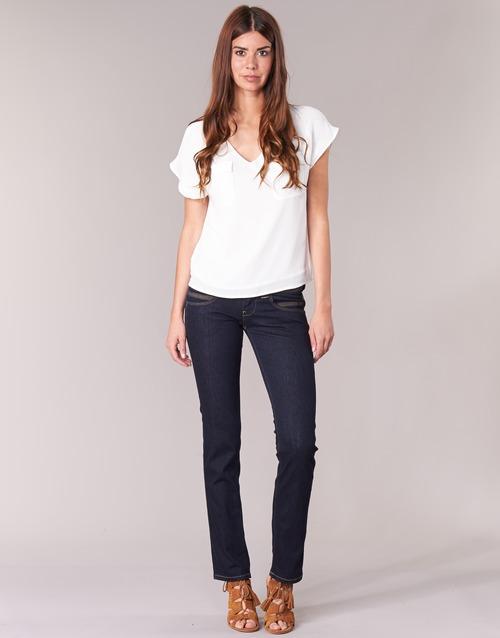 Abbigliamento Donna Jeans dritti Pepe jeans VENUS Blu