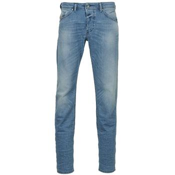 Abbigliamento Uomo Jeans dritti Diesel BELHER Blu / CLAIR