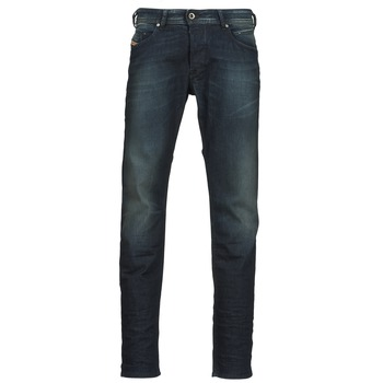 Abbigliamento Uomo Jeans dritti Diesel BELHER Blu / SCURO