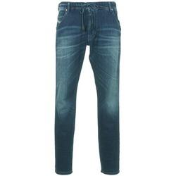 Abbigliamento Uomo Jeans dritti Diesel KROOLEY Blu / SCURO