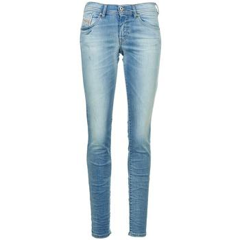Abbigliamento Donna Jeans slim Diesel FRANCY Blu / CLAIR