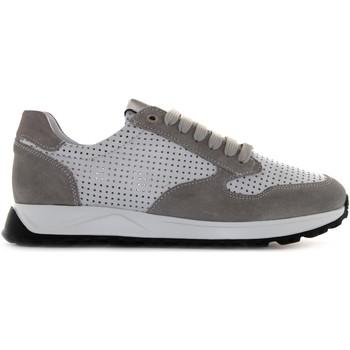 Scarpe Uomo Sneakers basse Exton scarpe uomo sneakers basse 751 BIANCO-GRIGIO Pelle