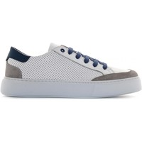 Scarpe Uomo Sneakers basse Exton scarpe uomo sneakers basse 862 BIANCO-BLU Pelle