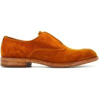 Scarpe Uomo Derby Pawelk's uomo scarpa stringata 20017 CHENILLE SIENA Pelle