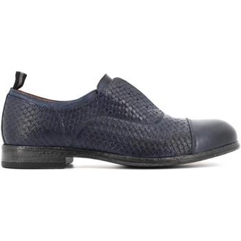 Scarpe Uomo Derby Antica Cuoieria scarpe uomo classiche 22038-4-V83 OYSTER INTRECCIO BLU Pelle