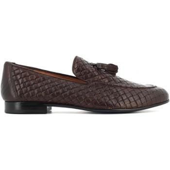 Scarpe Uomo Mocassini Antica Cuoieria scarpe uomo mocassini 22043-8-VB5 OYSTER INTRECCIO EBANO Pelle
