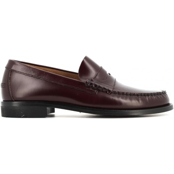 Scarpe Uomo Mocassini Antica Cuoieria scarpe uomo mocassini 15514-G-U23 GLOSS BORDEAUX Pelle